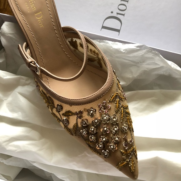 a42d2f3ccc9 Dior slingback shoes